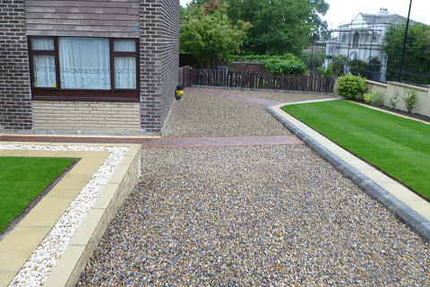 Maghull Gravel Stone Driveway