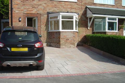Stockport Indian Stone Driveway